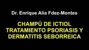 CHAMPU DE ICTIOL PSORIASIS DERMATITIS SEBORREICA