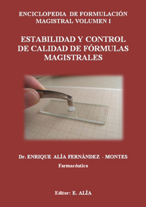 Product picture ESTABILIDAD Y CONTROL DE CALIDAD DE FORMULAS MAGISTRALES